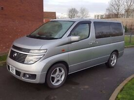 fresh import Nissan Elgrand 3.5, 8 seater, Twin sunroofs, excellent condition, clean interior