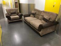 2x DFS sofa set, Free delivery
