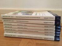 CFA Level 1 books, Kaplan Schweser