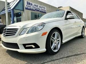 2011 MERCEDES BENZ E-350 4 MATIC**NAVIGATION/PANORAMIC ROOF/AMG