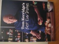 COOKERY BOOK - TOM KERRIDGE'S BEST EVER DISHES - AS NEW - (Kirkby in Ashfield)