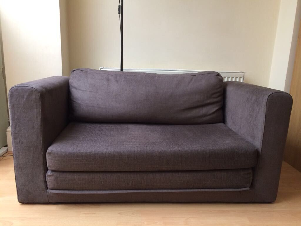 Ikea Askeby Two Seat Sofa Bed Grey In Acton London