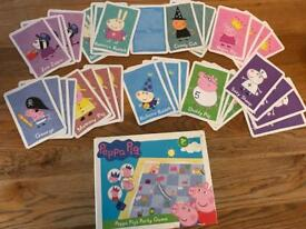 Peppa Pig Snakes & ladders party game and card game
