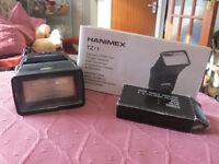 Hanimex TZ/1 Flash gun and coloured filters