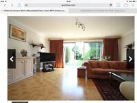 Large 3 bed House Newly Fitted carpet 2 Large Double Rooms 1 Single room Private parking &: garden