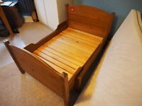 IKEA Child's Expandable Solid Wood Bed