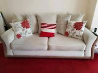 Red Rose Sofas for sale - very good condition