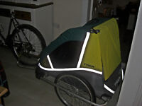 TREK CHILD CARRIER TRAILER VGC ALL COMPLETE LIGHT WEIGHT QUALITY BRAND