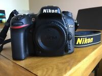 Nikon D7100 and 18-105mm lens for sale