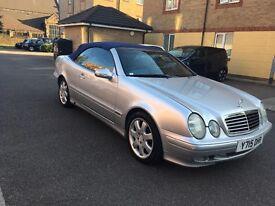 Mercedes clk 320 convertable 75k millage 2001