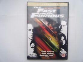 The Fast and thr Furious. DVD. Used in very good condition