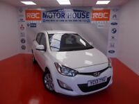 Hyundai i20 ACTIVE (£30.00 ROAD TAX) FREE MOT'S AS LONG AS YOU OWN THE CAR!!! (white) 2013