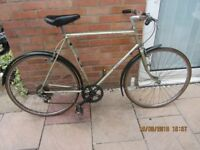 mens vintage Raleigh sports bike 22inch frame £59.00