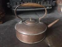 Antique. Copper kettle