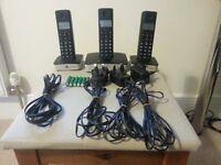 BT Freelance triple handset Phone system.