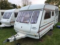Caravan 4/5/6 berth Compass Rallye GTE 1994 lovely condition *awning available (see below) Clevedon