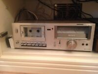 Vintage Sony Tape Deck player