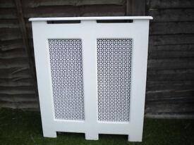 White Radiator Cabinet