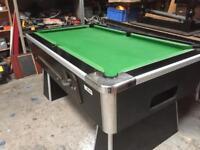 Pool table 6x3 slate bed