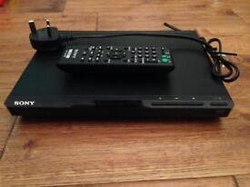 DVD player + 18 DVD's