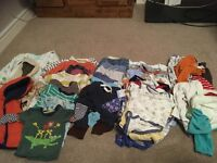 Large bundles of boys clothes 6-9 months