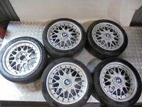 BMW 3 Series E36 BBS Staggered Split Rim 17 Inch Alloy Wheels 2227647