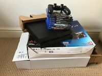 Ps4 bundle inc controller and games