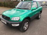 Toyota RAV4 3 door 2.0 petrol manual1998 111k