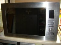 Hotpoint MWH222.1X built in Microwave /grill