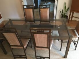 *Reduced - Dining Table & 6 Chairs