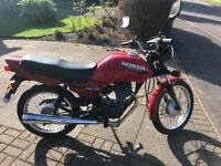 Honda 1998 CG 125CC Motorbike - Good Ride, MOT etc