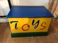 Toybox storage chest, trunk toy box