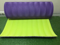 EVA Yoga Mat 10mm Thick Exercise Fitness Pilates Camping Gym Mats Non Slip & bag