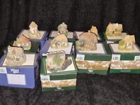 10 x Boxed Collection of Lilliput Lane Houses and lilliput lane cottages - mainly with deeds -
