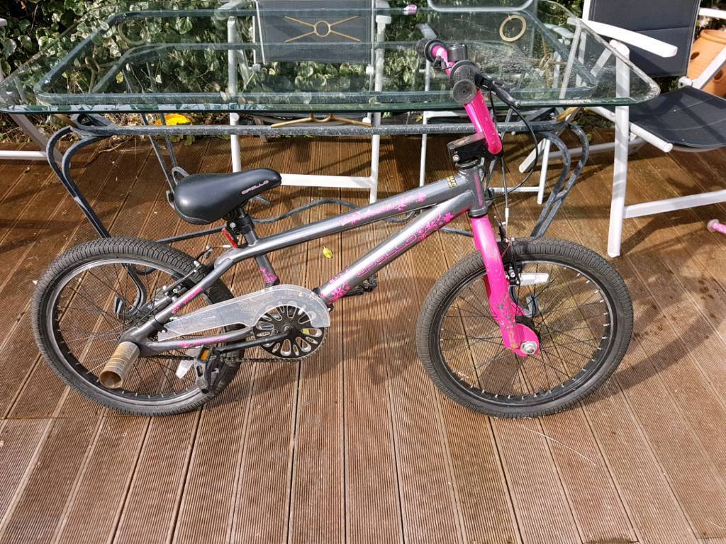 Girls stunt bike