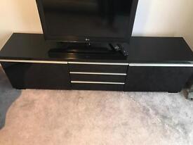 Glossy Black - TV unit
