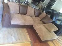 Brown corner sofa new
