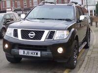 NISSAN NAVARA 2.5 DCI TEKNA DOUBLE CAB PICK 2011 AUTOMATIC