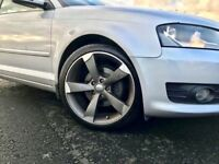 """Audi A3 Turbo, Low Tax and Insurance, 50 mpg, TTRS 18"""" Alloys included. Not tdi, golf Leon"""