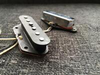 Joe Riggio Custom Tele Telecaster Pickup Pickups Set for Fender Custom shop