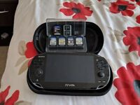 Play station VITA plus games and accessories