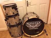 Serenity Custom Drum Kit with Pearl Rack // Free Local Delivery
