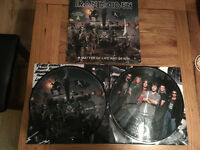 IRON MAIDEN A Matter of Life and Death Picture Disc