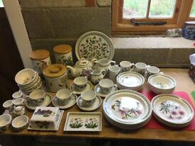 Portmerion China, Botanic Garden. 60 assorted items.