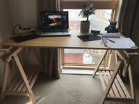 Selling this beautiful wooden Ikea desk