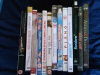 Job lot of DVDs, good mix of genres, some brand new. See pics for more details