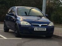 VAUXHALL CORSA ACTIVE 1.2// 53 PLATE//7 MONTHS MOT///FULLY LOADED £850