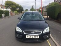 2005 FORD FOCUS 1.6 GHIA FSH MOTED IN VERY GOOD CONDITION WITH FULL LEATHER UPHOLSTERY