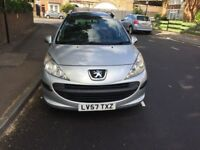 Peugeot 207..automatic 57 plate .with mot and tax