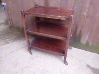Wooden Hostess Trolley Delivery Available